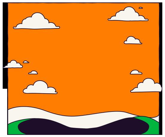 cuero-nubes-fondo